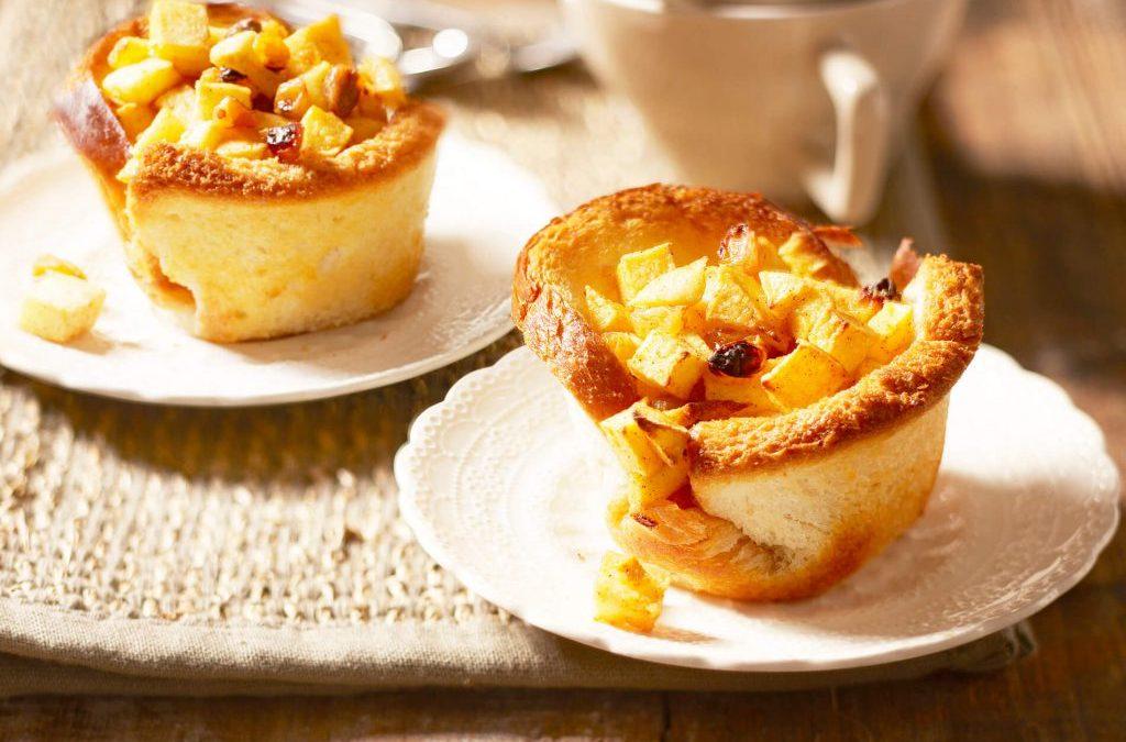 Brood-appeltaartjes