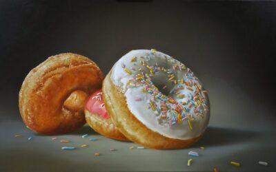 Wie gaat er los op het donut festival?