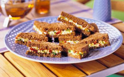 Volkoren eiersandwiches